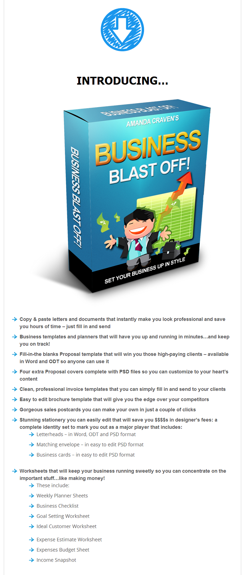 salesletter6 [GET] OFFLINERS: Business Blast Off Is Here! wso offliners affiliate marketing